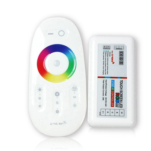 2.4G_RF_wireless_touch_remote_RGBW_LED_controller