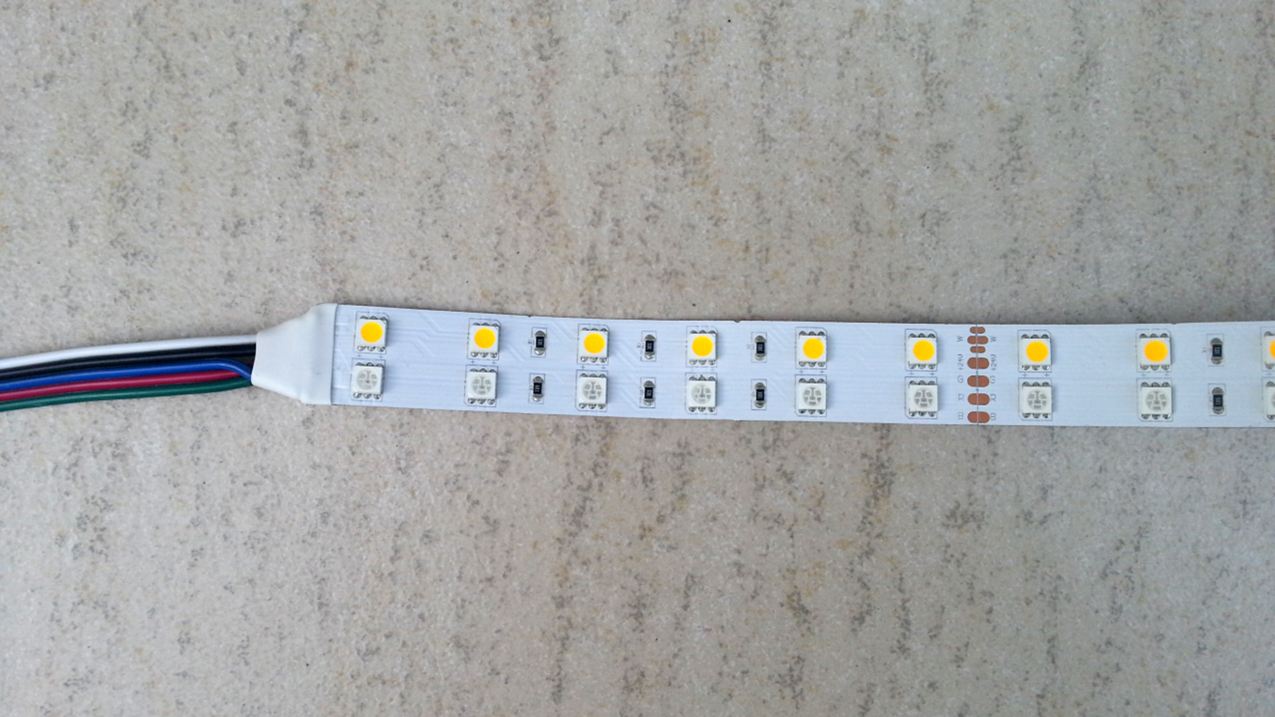 24V_480_LEDs_dual_lines_IP20_RGBW_5050_LED_light_strip