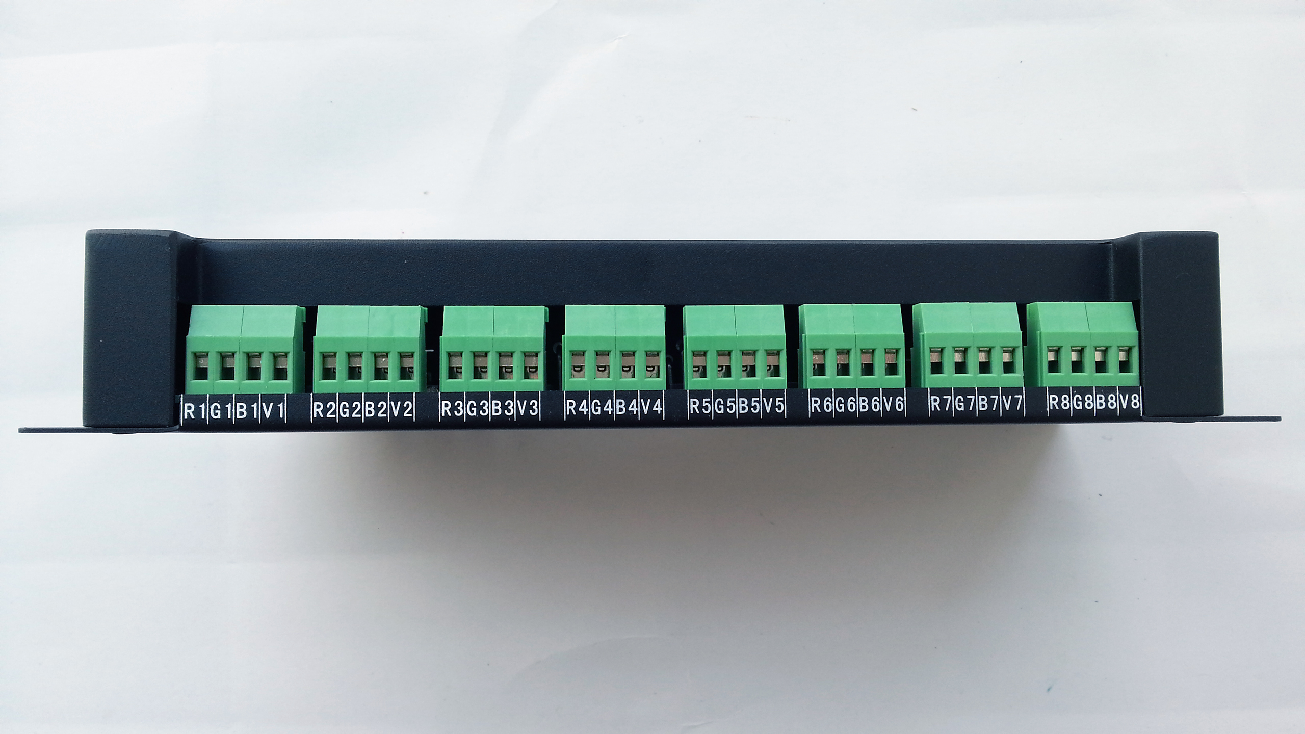 24_channels_DMX512_decoder_ports
