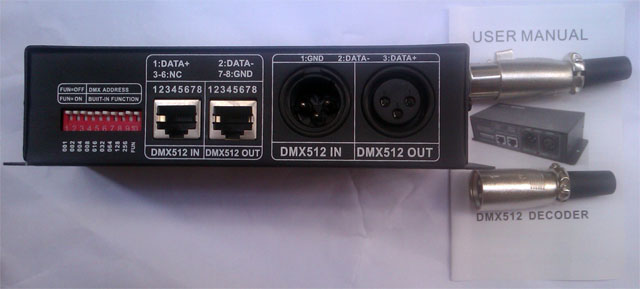 DMX512_decoder_front_for_IR_ribbon