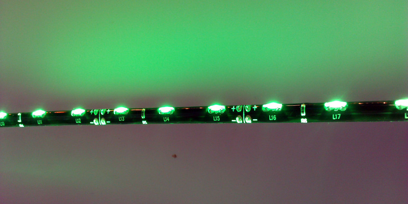 IP65_dripping_glue_waterproof_SMD_335_LED_green_light_strip_60_LEDs_per_meter
