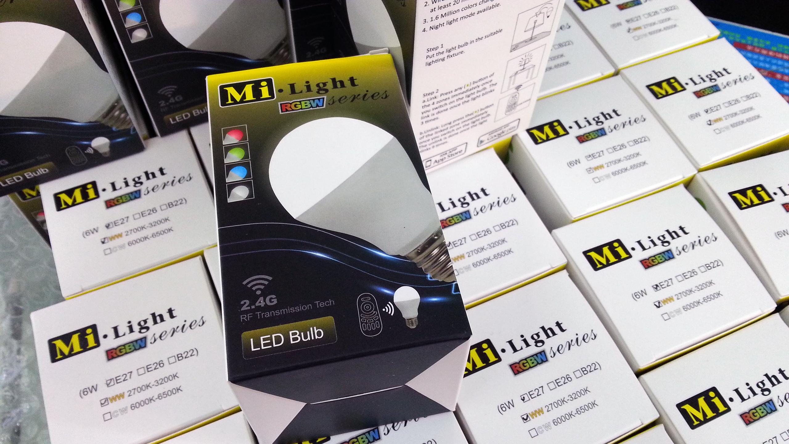 RF_WiFi_control_6W_RGBW_LED_bulb