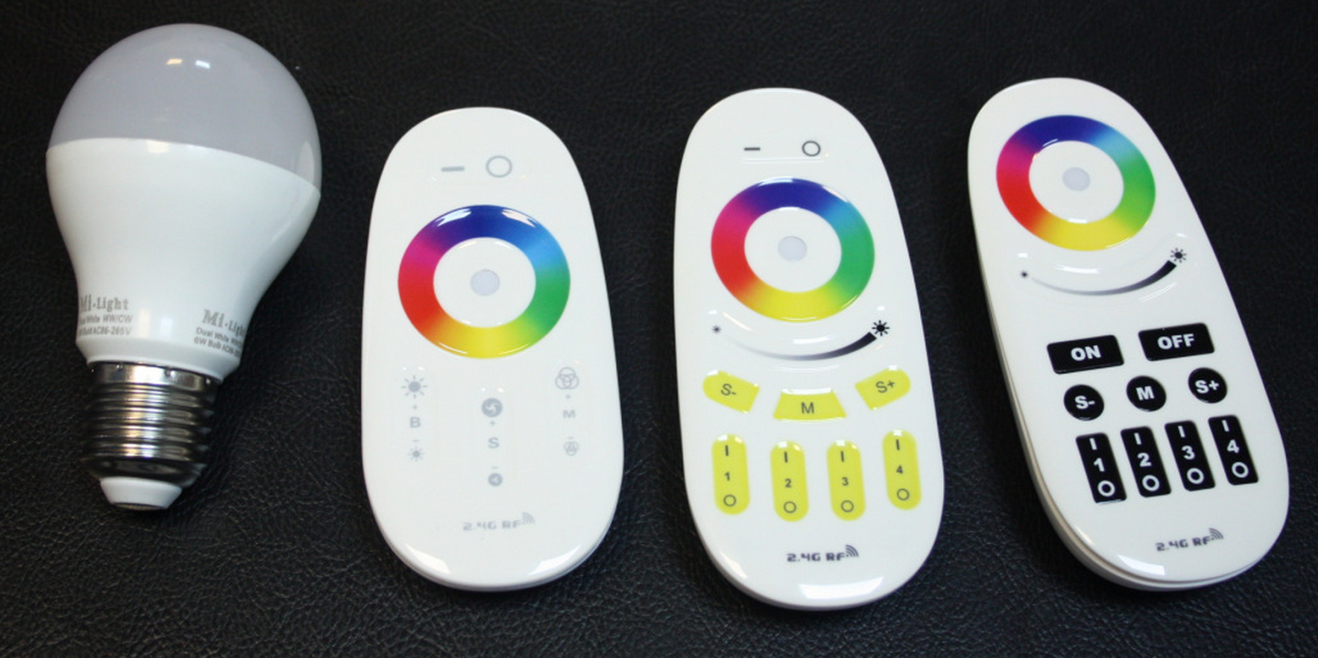 RF_wireless_control_6W_RGBW_LED_bulb_with_remotes
