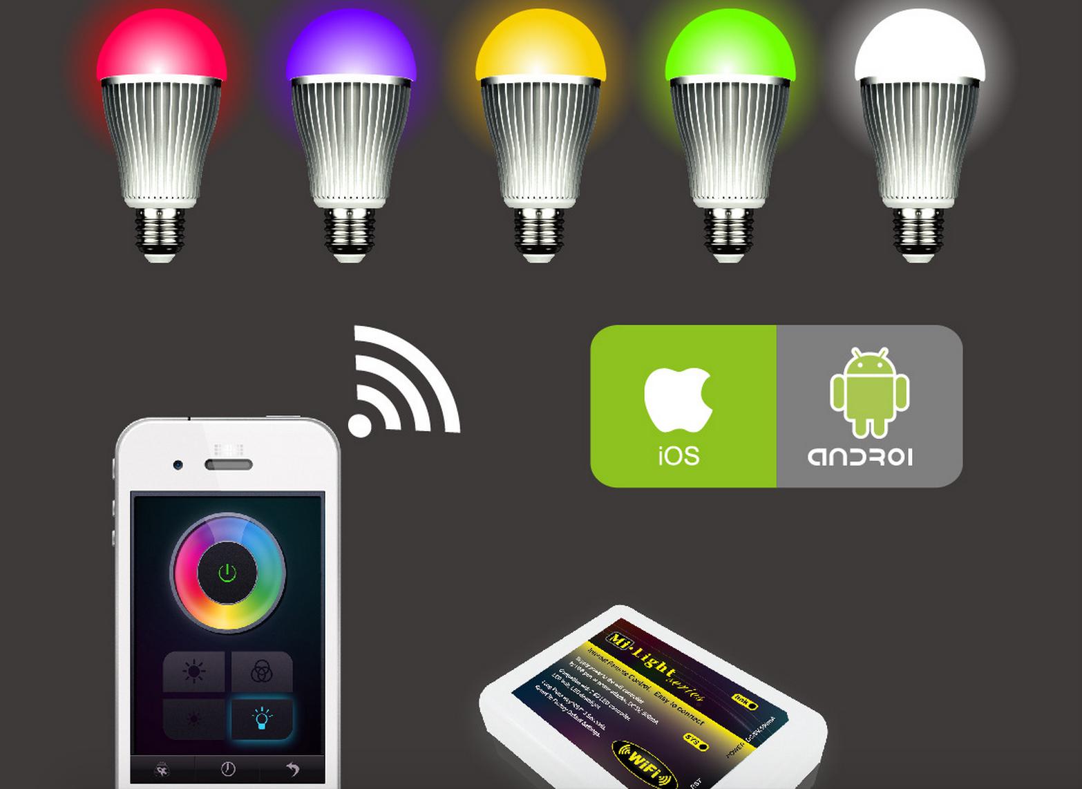 WiFi_wireless_control_9W_RGBW_LED_bulb_with_WiFi_controller