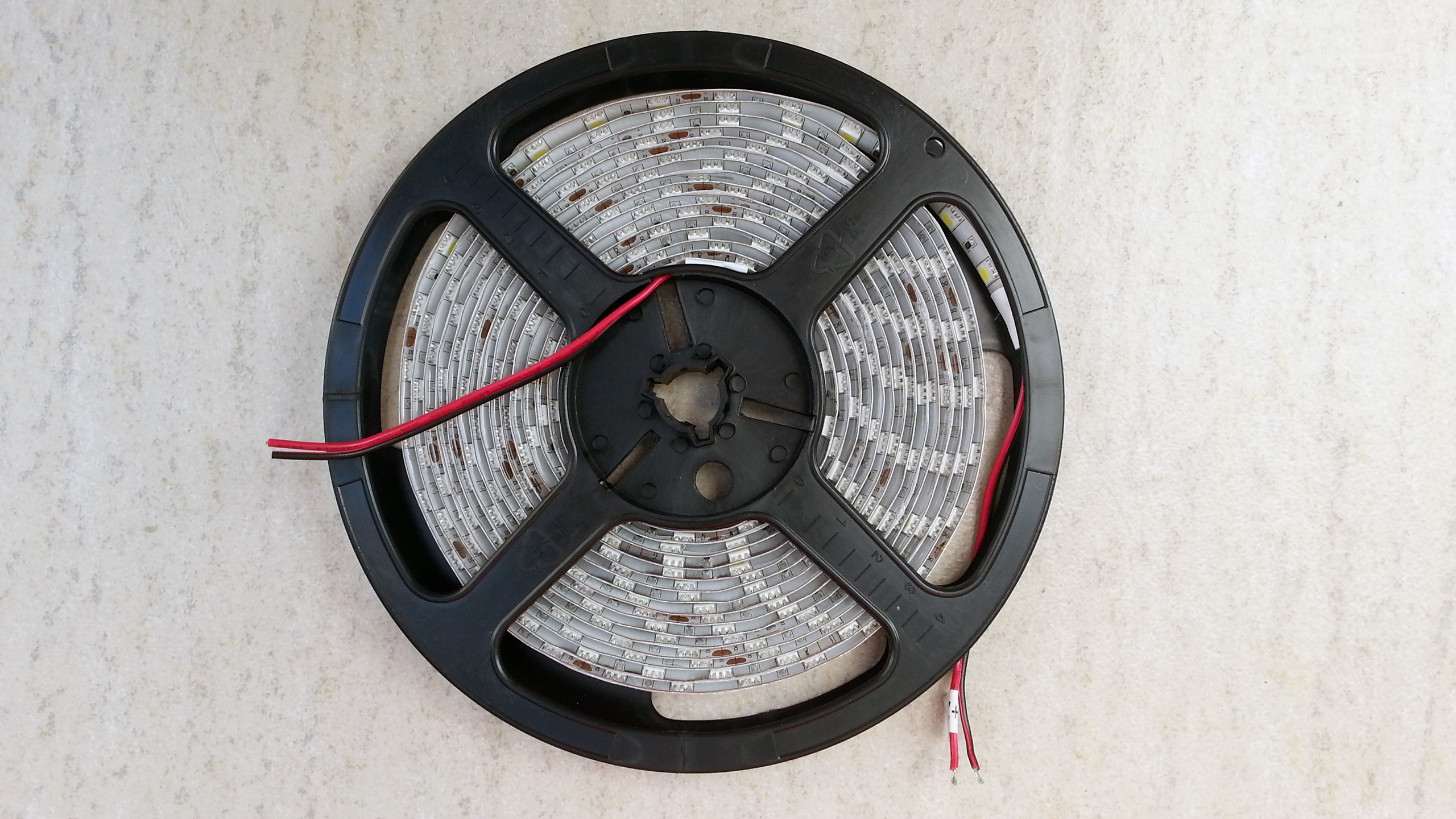 silica_gel_waterproof_24V_pure_white_SMD_5050_LED_light_strip